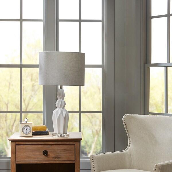 Madison Park Signature Radiant Ivory Table Lamp