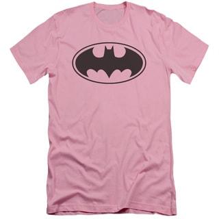 Batman/Black Bat Short Sleeve Adult T-Shirt 30/1 in Pink