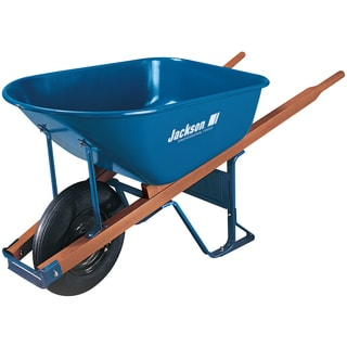 Jackson M6T22 6 Cubic Steel Wheelbarrow