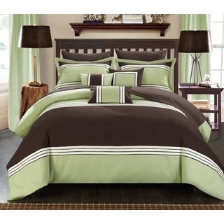 Chic Home 8-Piece Falconia BIB Comforter Set