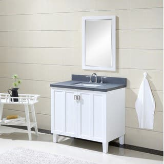 White Finish Grey Artificial Marble Top 36-inch Single Sink Bathroom Vanity|https://ak1.ostkcdn.com/images/products/12437622/P19253106.jpg?impolicy=medium