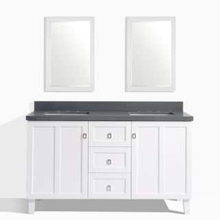 White Finish 60-inch Grey Quartz Top Double Sink Bathroom Vanity with 2 Mirrors|https://ak1.ostkcdn.com/images/products/12437630/P19253109.jpg?impolicy=medium