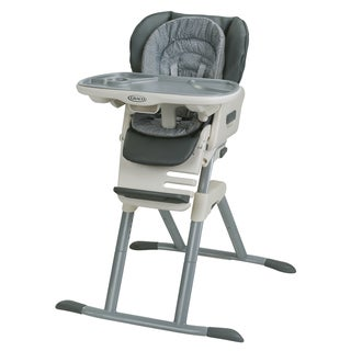 Graco Grey SwiviSeat 3-in-1Booster High Chair