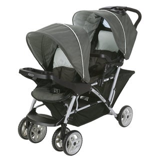 Graco DuoGlider Click Connect Black and Grey Stroller