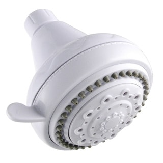 LDR 520-5305WT White 5 Function Showerhead