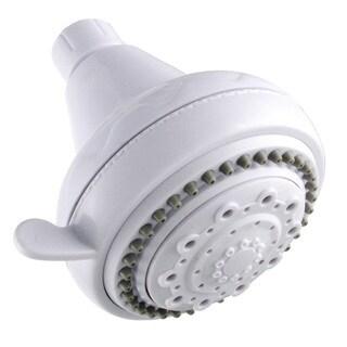 LDR 520-5305WT White 5 Function Showerhead