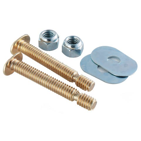 Plumb Craft Waxman 7642150N Toilet Snap-Off Bolt Set