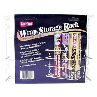 "Grayline 40231 12"" X 3-5/8"" X 8""Saran Wrap & Aluminum Foil Storage Rack"