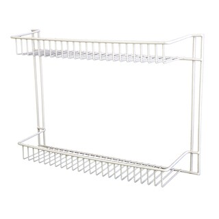 Grayline 43001 Small White 2 Shelf Organizer