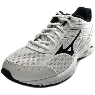 Mizuno Men's 'Wave Unite 2' White Mesh Athletic Shoes