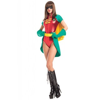 Be Wicked Women's Polyester Spandex 5-piece 'Radiant Robyn' Costume