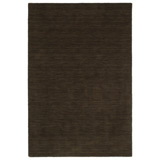 Gabbeh Chocolate Hand Made Rug (5' x 7'6)