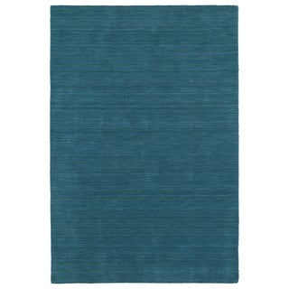 Gabbeh Turquoise Hand Made Rug - 3' x 5'