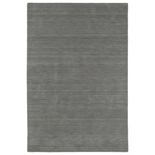 """Gabbeh Silver Hand Made Rug (7'6 x 9'0) - 7'6"""" x 9'"""