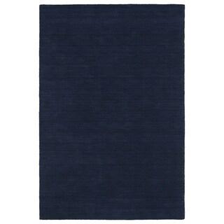 Gabbeh Navy Hand Made Rug (3'0 x 5'0)
