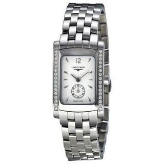Longines Women's L51550166 'Dolce Vita' Diamond Stainless Steel Watch. Opens flyout.