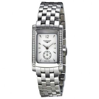 Longines Women's L51550166 'Dolce Vita' Diamond Stainless Steel Watch