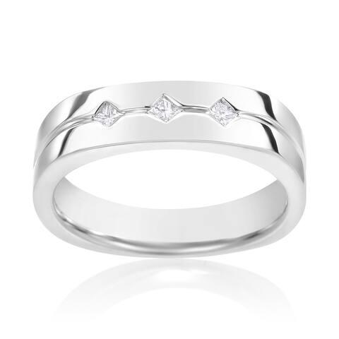 SummerRose, 14k Gold 1/7-carat TDW - White