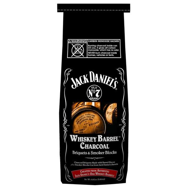 Shop Jack Daniels 211 134 417 4 Lb Whiskey Barrel Charcoal Briquets