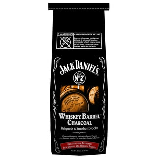 Shop Jack Daniels 211 134 417 4 Lb Whiskey Barrel Charcoal