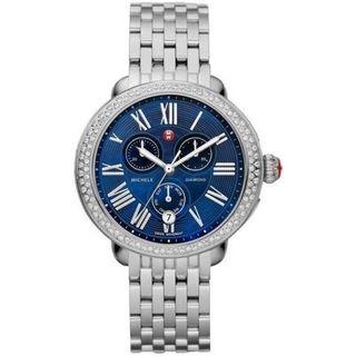 Michele Women's MWW21A000026 'Serein' Chronograph Stainless Steel Watch