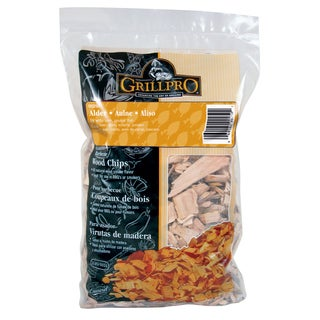 GrillPro 00250 2 Lb Alder Barbecue Wood Chips