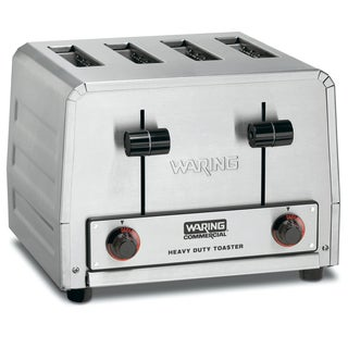 Waring Commercial WCT805 Heavy Duty Stainless Steel Toaster (Refurbished)