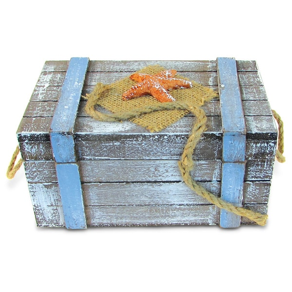Puzzled Inc. Large Pacific Jewelry Box Nautical Decor