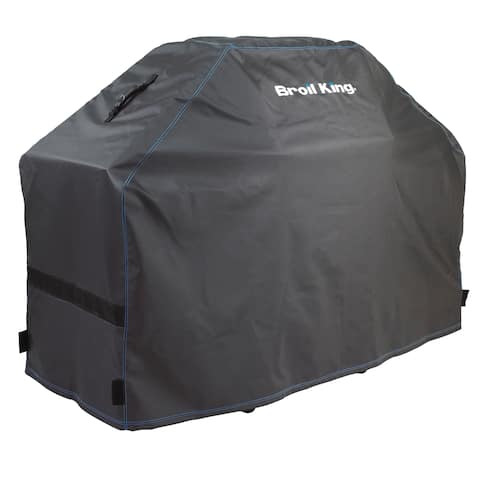 Broil King 68487 Heavy Duty PVC Polyester Grill Cover Assorted Colors