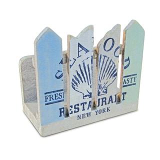 Link to Puzzled Ocean Breeze Napkin Holder Nautical Decor Similar Items in Glasses & Barware