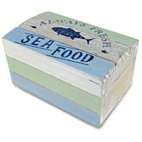 Puzzled Nautical Decor Ocean Breeze Jewelry Box