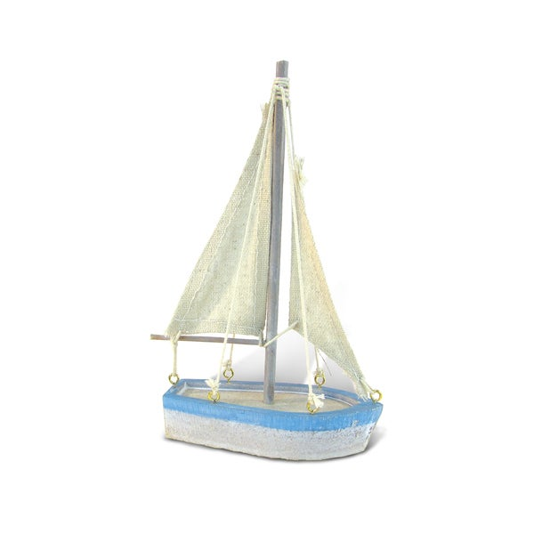Ocean Breeze Small Sailboat Nautical Decor