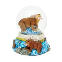 Puzzled Inc.Grizzly Bear Snow Globe