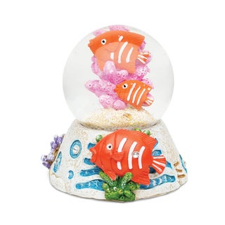 Puzzled Inc. Fish Stone Snow Globe