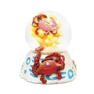 Puzzled Stone 3DCrab Snow Globe