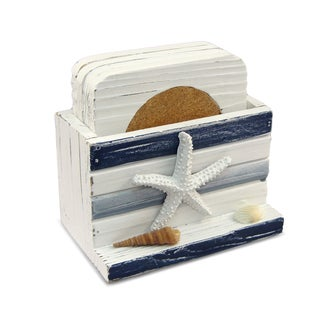 Link to Nautical Decor Blue Stripes Coasters Similar Items in Glasses & Barware
