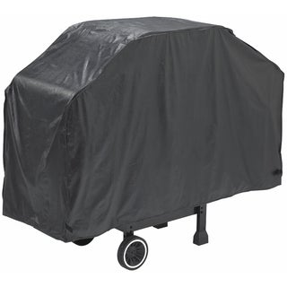 "GrillPro 50057 56"" X 21"" X 40"" Black Heavy-Duty Grill Cover"
