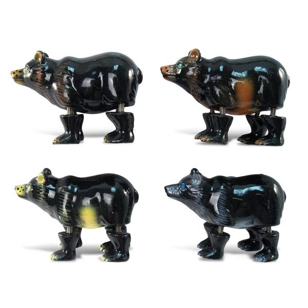 Puzzled Inc. Black Bear Bobble Magnet