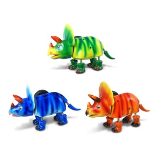 Triceratops Bobble Magnets (Set of 3)
