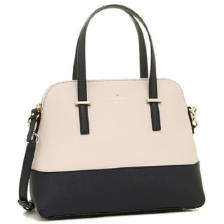 Kate Spade New York Cedar Street Maise Crisp Linen/Off Shore Satchel Handbag