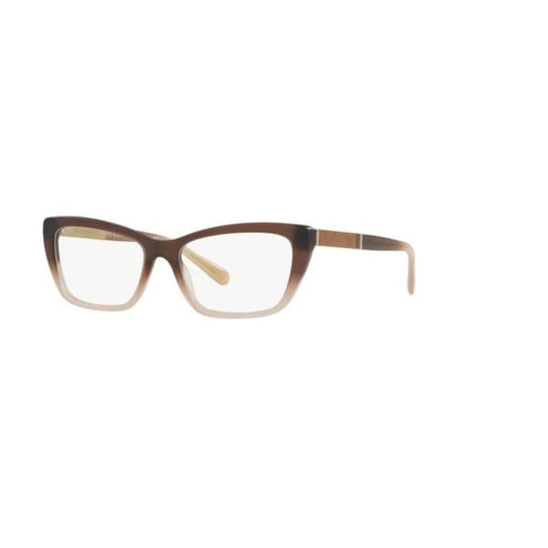c71bbd0b2c Burberry BE2236 3607 Brown Gradient Matte Pink Plastic Cat Eye Eyeglasses  w  52mm Lens