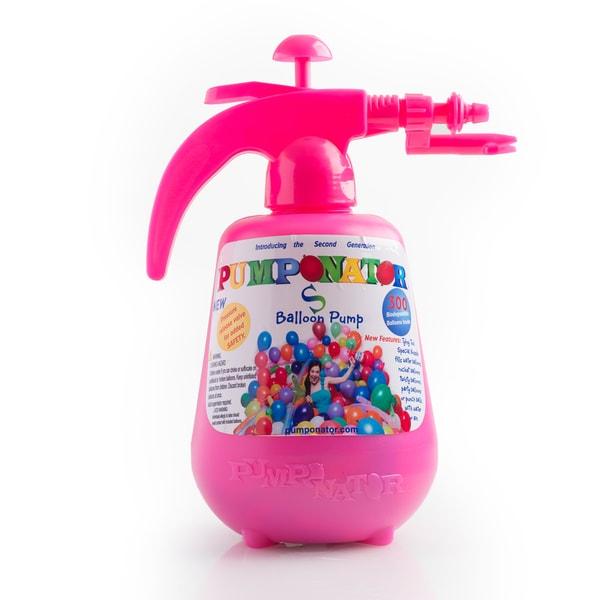 Pumponator Pink Balloon Pumping Station