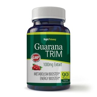 Guarana 1000-milligrams Trim Energizer (90 Capsules)