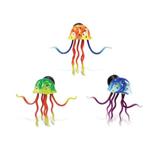 Acaleph Multicolor Plastic Bobble Magnet (Set of 3)