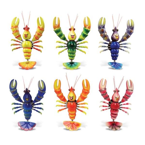 Funny Lobster Bobble Magnets (Set of 6)