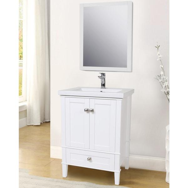 Shop Elegant Lighting Single Bathroom Vanity Set Free Shipping Today 12440458
