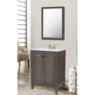 elegant lighting single bathroom vanity set - Gray Bathroom Vanity