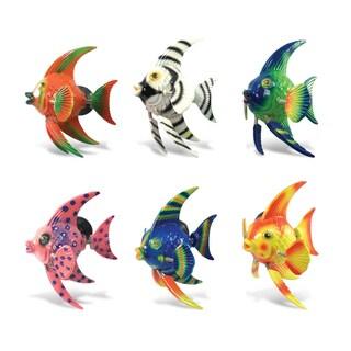 Colorful Angel Fish Short Fin Bobble Magnet