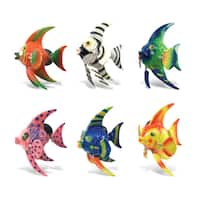 Colorful Angel Fish Short Fin Bobble Magnet