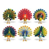 Peacock Bobble Magnets